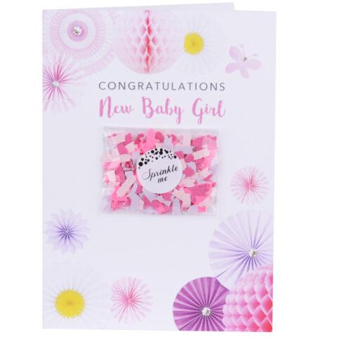 Ευχετήρια Κάρτα Χειροποίητη Ροζ. Σε αυτή την κάρτα μπορείτε να γράψετε έως 35