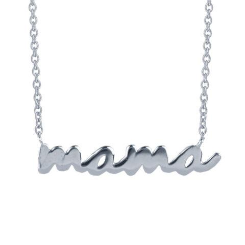 """Βραχιόλι """"μαμά"""" σε ασήμι 925. Το βραχιόλι με την πιο όμορφη λέξη στον κόσμο σε ασήμι 925. Φέρει αυξομείωση στην αλυσίδα για τέλεια εφαρμογή."""
